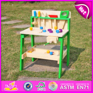 2015 Top New Wooden Tool Toys for Kids, Wooden Pretend Tool Toys Tool Station Toy for Children, Pretend Play Tool Set Toy W03D057 pictures & photos