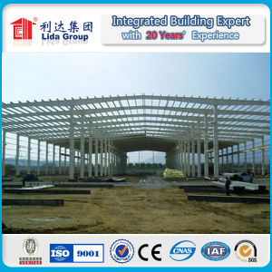 Cheap and Elegent Prefabricated Steel Frame Warehouse/Workshop Building pictures & photos