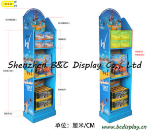 China Paper Display Manufacturers/Cardboard Floor Display/Paper Display Rack (B&C-A017) pictures & photos