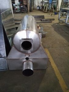 Auto Spray Paint Booth Heat Exchanger pictures & photos