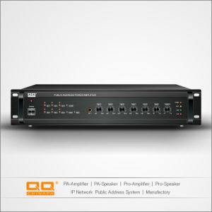 OEM ODM Sound Public Address 6 Zone 100V Amplifier 380W pictures & photos
