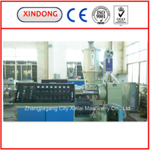 Gas Supply PE Solid Pipe Extrusion Line pictures & photos