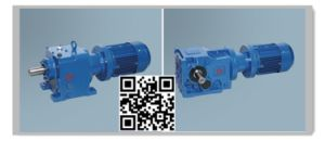 Hengtai (R, K Series) Helical Bevel Gear Box pictures & photos