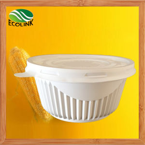 650ml Disposable Crockery Cornstarch Bowl pictures & photos