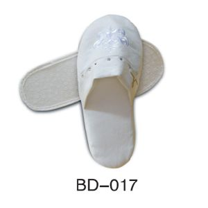 Slipper with 100% Towel Fabric