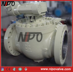 Cast Steel Top Enrty Trunnion Ball Valve pictures & photos