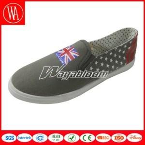 Comfort Flat Leisure Shoes Plain Canvas Casual Shoes pictures & photos