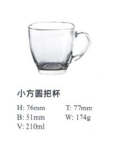 High Quality Glass Cup with Good Price Kb-Hn0860 pictures & photos