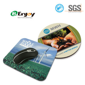 Round Shape Customized Logo Printed Computer Mousepad pictures & photos
