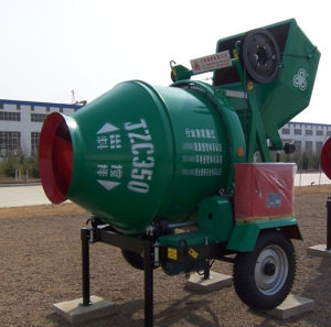Small Electric Jzc350 Concrete Mixer Equipment for pictures & photos