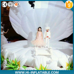 Party/ Stage/ Wedding Decoration Customized Giant Inflatable Stage LED Shell pictures & photos