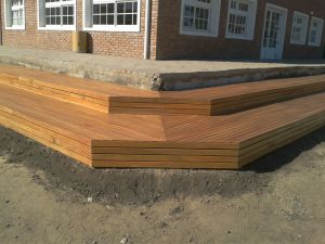 Factory Direct Supplying Timber Decking Cumaru Outdoor Decking pictures & photos
