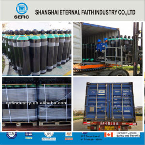High Pressure Seamless Steel CO2 Gas Cylinder (ISO232(IPED)) pictures & photos