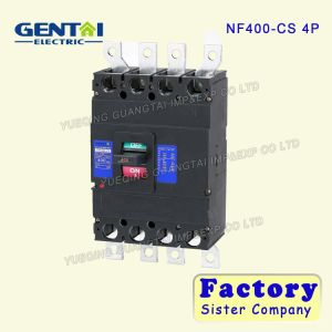 High Quality Cheaper Mitsubishi Type 4pole 400A Moulded Case Circuit Breaker pictures & photos