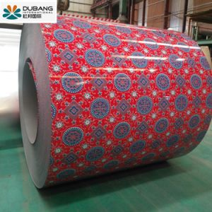 Flower Design Prepainted Steel Coil for Decoration pictures & photos