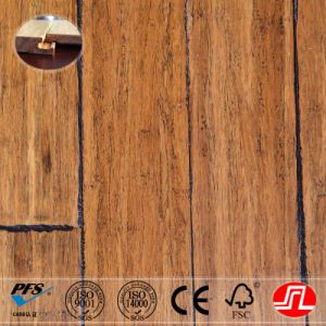 Archaistic Style Antique Carbonized Strand Woven Bamboo Flooring
