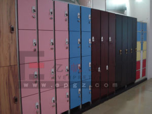 Compact Laminate Cabinet for Gymnasium, Fitnessroom, Sauna Room pictures & photos