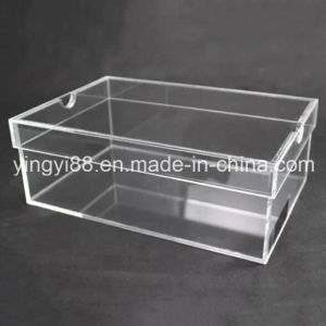 Top Selling Acrylic Shoe Display Box with SGS Certificates pictures & photos