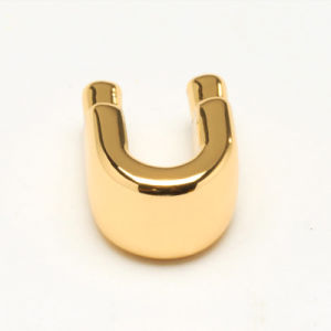 Electroplate Finish Golden Pack Bag Hardware Accessories in U Shape pictures & photos