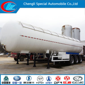 Factory 25ton Liquid Gas Tanker Trailer with Sunshade Cover pictures & photos