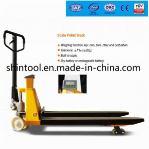 Scale Pallet Truck Sbc Small Pallet Truck pictures & photos