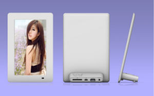7 Inch Single Function Digital Photo Frame Video Player pictures & photos