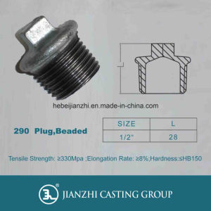 Malleable Iron Pipe Fittings Plug pictures & photos