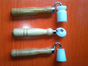 Wallpaper Roller for External Corner (wooden handle, stainless bearing)