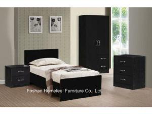 3 Piece High Gloss Combi Wardrobe Bedroom Set pictures & photos