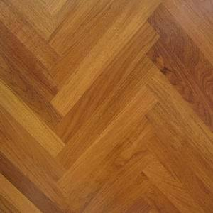 Random Length Smooth Teak Parquetry Flooring (BT-VII)