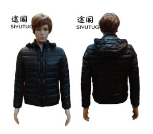Men Fashion Hoody Padding Winter Jacket pictures & photos