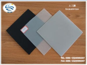 Black HDPE Plastic Sheet HDPE Geomembrane Factory pictures & photos