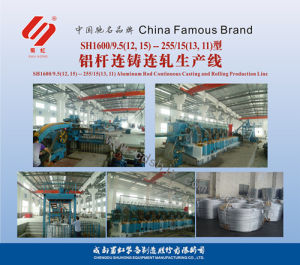 Aluminum Rod Continuous Casting and Rolling Production Line pictures & photos
