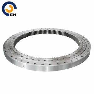 Single-Row Crossed Roller Mini Excavator Slewing Bearing pictures & photos