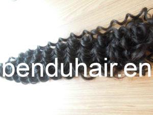 Virgin Weft Human Hair, Natural Remy Human Hair Weft (BD-11072608)