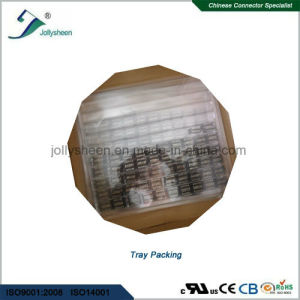 Pin Header Pitch 2.54mm  Three Row Dual Insulator Right Angle Type H2.54mm pictures & photos