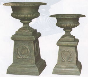 Cast Iron Urn Cap316+Base80 Cap180+Base81 pictures & photos