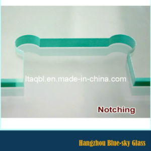 8mm 10mm 12mm Clear Frameless Toughened Glass for Balustrade