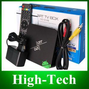 HD18s2 DVB-S2 Dual Core Android 4.2.2 Google TV Box Player W/ 1GB RAM, 8GB ROM, HDMI - Black