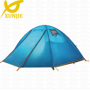 Double Layer Aluminum Pole Camping Tent pictures & photos
