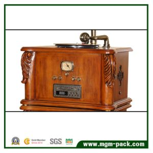 Hot Sale Retro Wooden Phonograph with Speaker pictures & photos