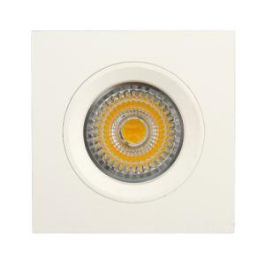 Aluminum Die Casting GU10 MR16 Square Fixed Recessed LED Down Light (LT1107) pictures & photos