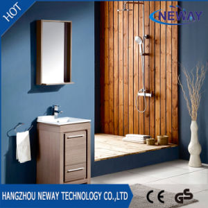 Hot Sell Melamine Waterproof Bathroom Furniture with Mirror pictures & photos