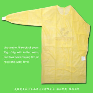 Disposable Nonwoven Isolation Gown pictures & photos