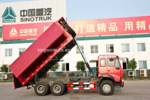 6X4 Driving Type 25tons Covering Dump Truck pictures & photos