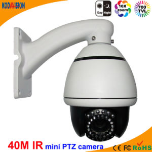 Sony 700tvl CCTV Mini IR High Speed Dome PTZ Camera pictures & photos
