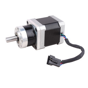 1.5A NEMA 17 Gear Box Stepper Motor with Connector pictures & photos