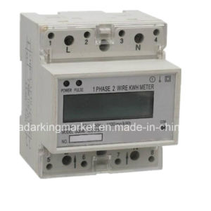 Multi Tariff Single Phase DIN Rail Electronic Multi Function Meter pictures & photos