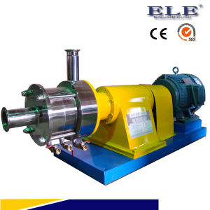 Inline shear mixer pump