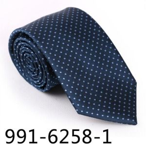 New Design Men′s Fashionable DOT Necktie (6258-1) pictures & photos